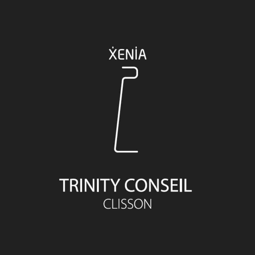 Xénia présentoir gel hydroalcoolique. COVID 19. Gestes barrières. Fabriqué en France. by Trinity Conseil