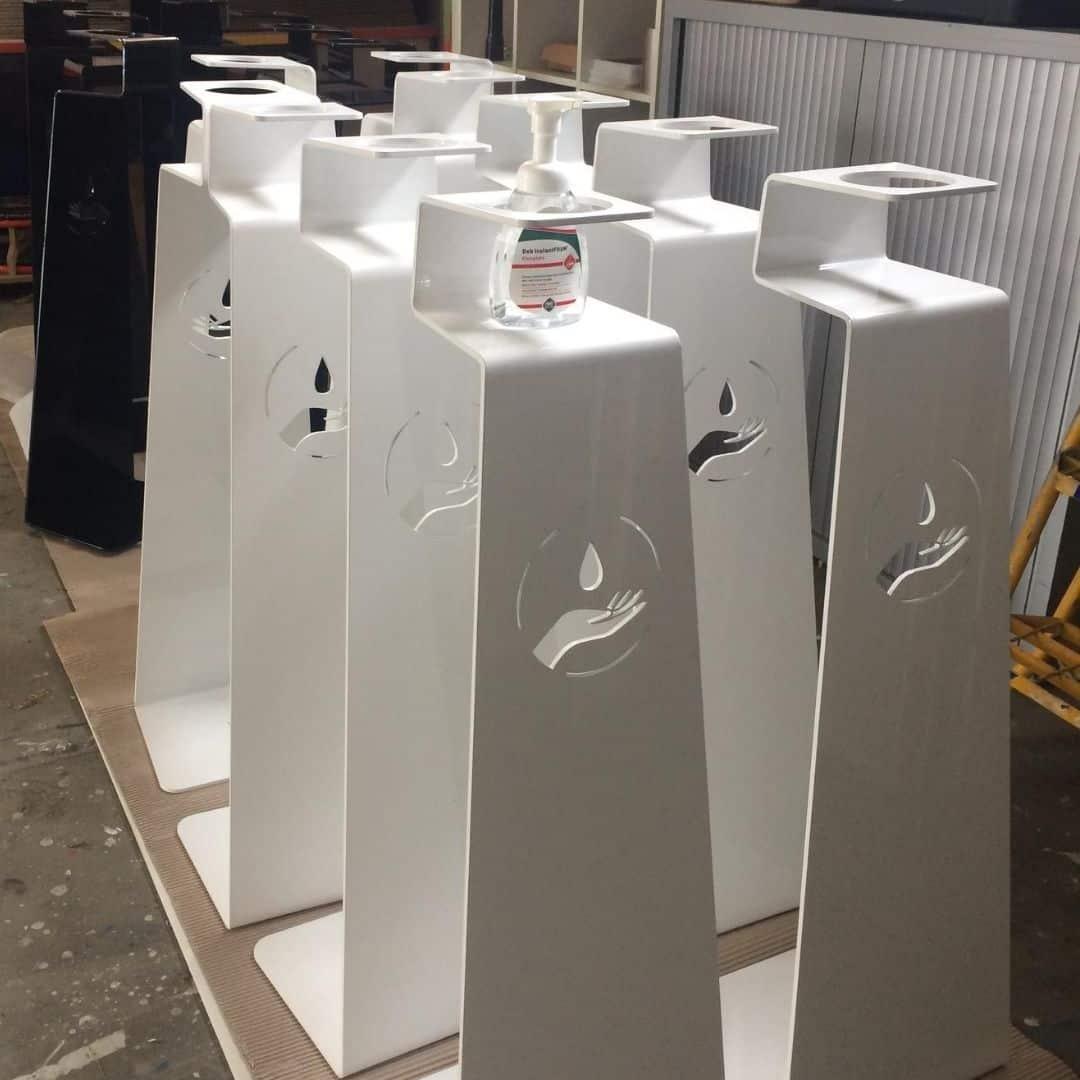 Borne gel hydro alcoolique Xénia fabriquée en france